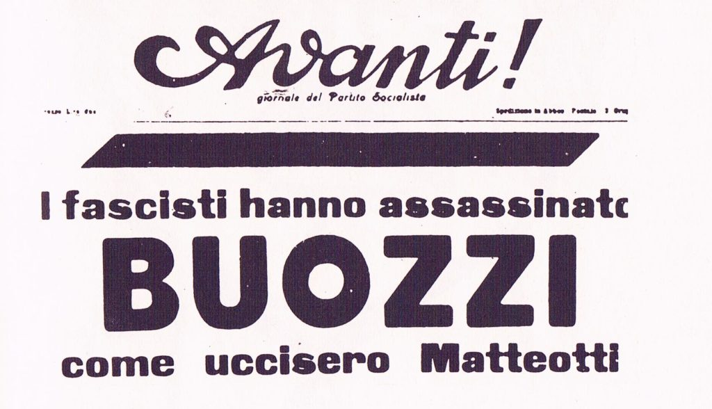 assassinato Buozzi