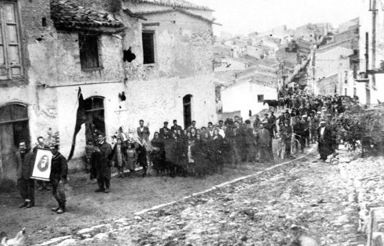 I funerali di Calogero Cangelosi