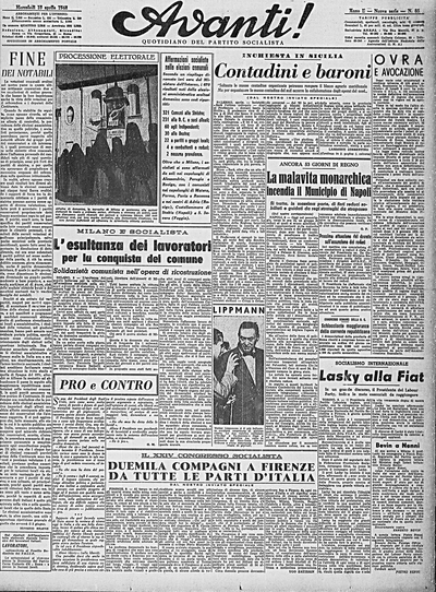 Avanti 10 Aprile 1948
