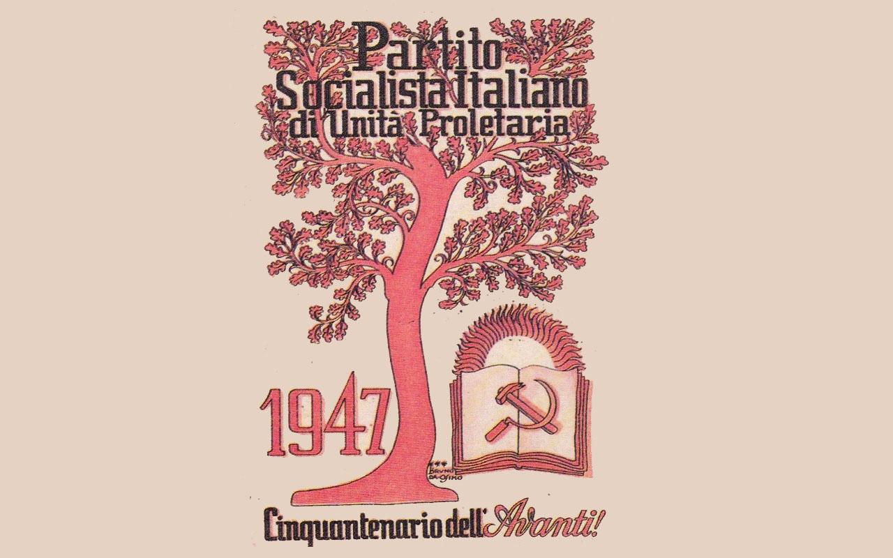 LA RICOSTRUZIONE DEL PARTITO SOCIALISTA NEL DOPOGUERRA -